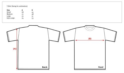 T-shirt-Sizing